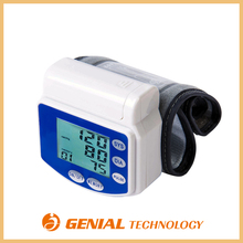 Digital wrist type blood pressure monitor ce quality