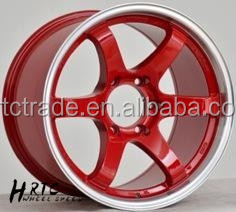 Hrtc Red 4x4 Suv Alloy Wheels 18*9.5 And 18*10.5 With Genuine Or ...