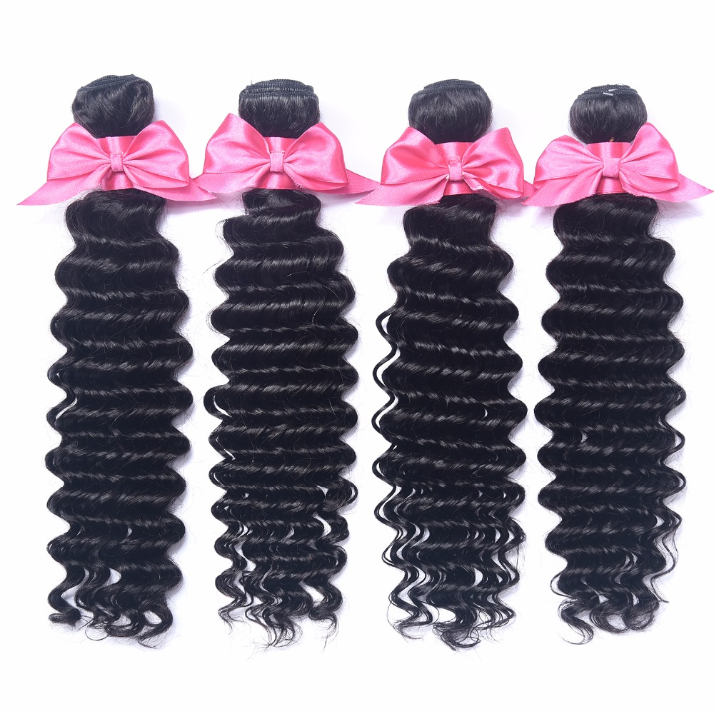 Best quality Wholesale Hair Weave Distributors Raw Unprocessed Deep Wave Virgin Brazilian Human Hair Extension