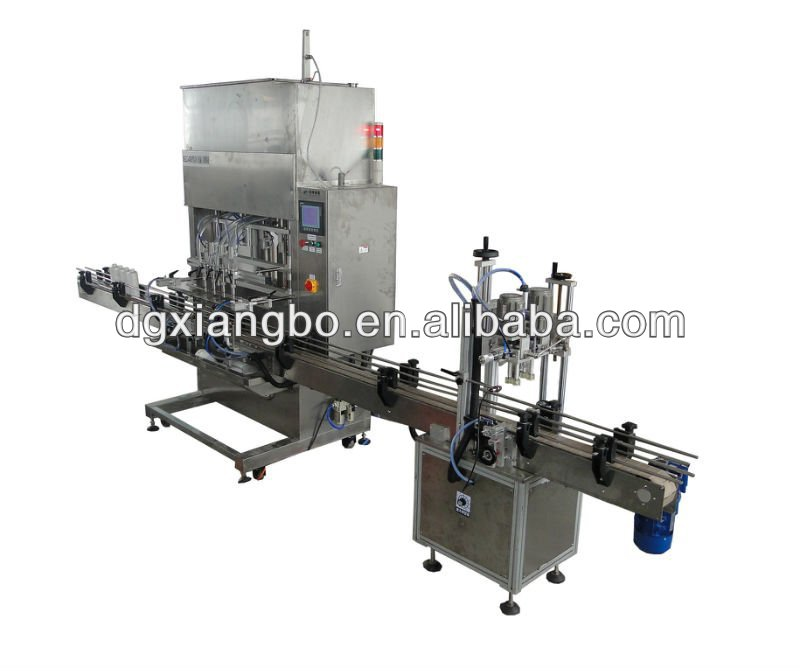Automatic plastic bottle filling and sealing machine Prodction Line XBGZJ-4200