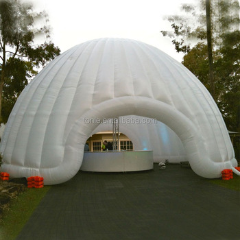 Circular white giant inflatable air dome dome tent for sale & Circular White Giant Inflatable Air DomeDome Tent For Sale - Buy ...