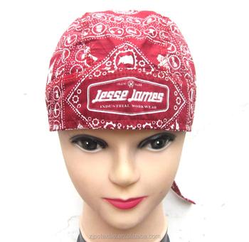 d210d4fb1b64c 100% Cotton Durag  bandana Cap With Customized Logo - Buy ...