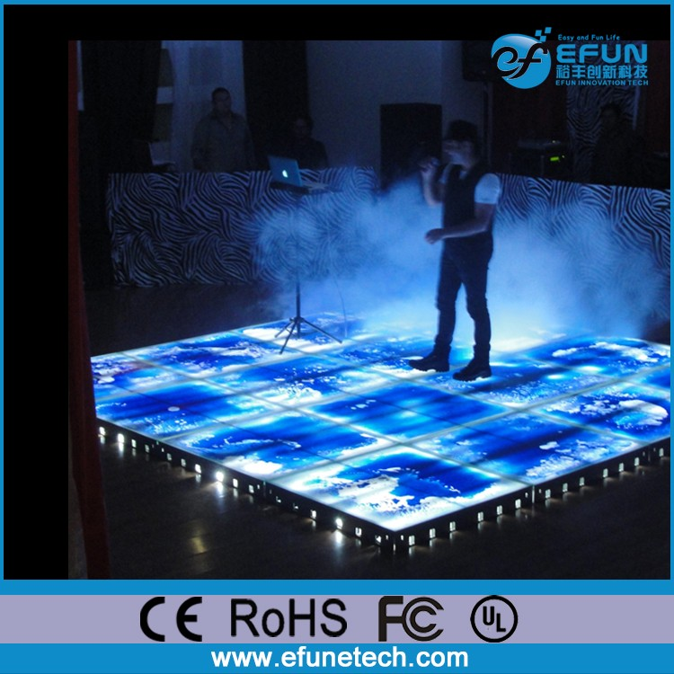 nightclub decorative led liquid dance flooring,color change on step led liquid floors