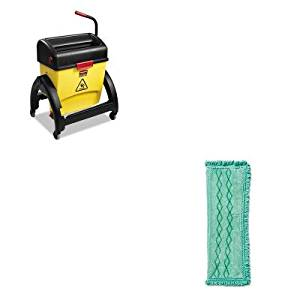 KITRCP1791793RCP1791797 - Value Kit - RUBBERMAID COMMERCIAL PROD. HYGEN Microfiber Dust Mop (RCP1791793) and RUBBERMAID COMMERCIAL PROD. HYGEN Clean Water System Filter Bucket with Wringer Combo (RCP1791797)