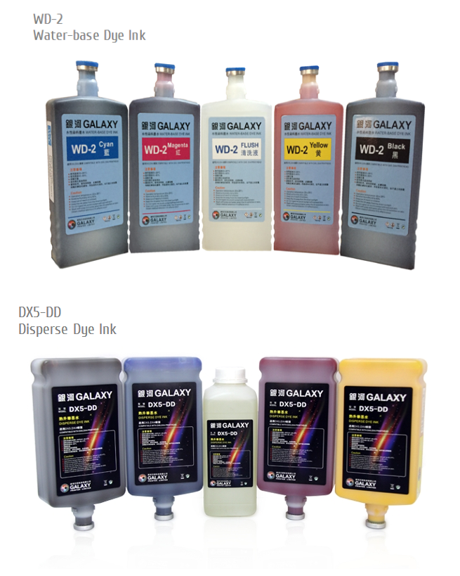 DX5 Eco Solvent Ink for large format Printer, Top Quality for Galaxy UD-181LC printing machines
