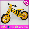 Cheap wooden bike toy for kids,cute design wooden toy bike for children,wooden balance bicycle toy for baby W16C075