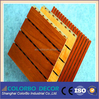 Sound insulation wall board acoustic perforated MDF board