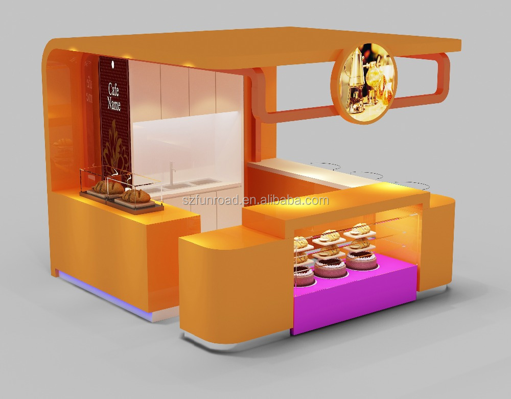 Shopping Mall Fast Food Kiosk Design With Retail Store Display Stand - Buy  Retail Store Display Stand,Fast Food Kiosk Design,Shopping Mall Kiosk