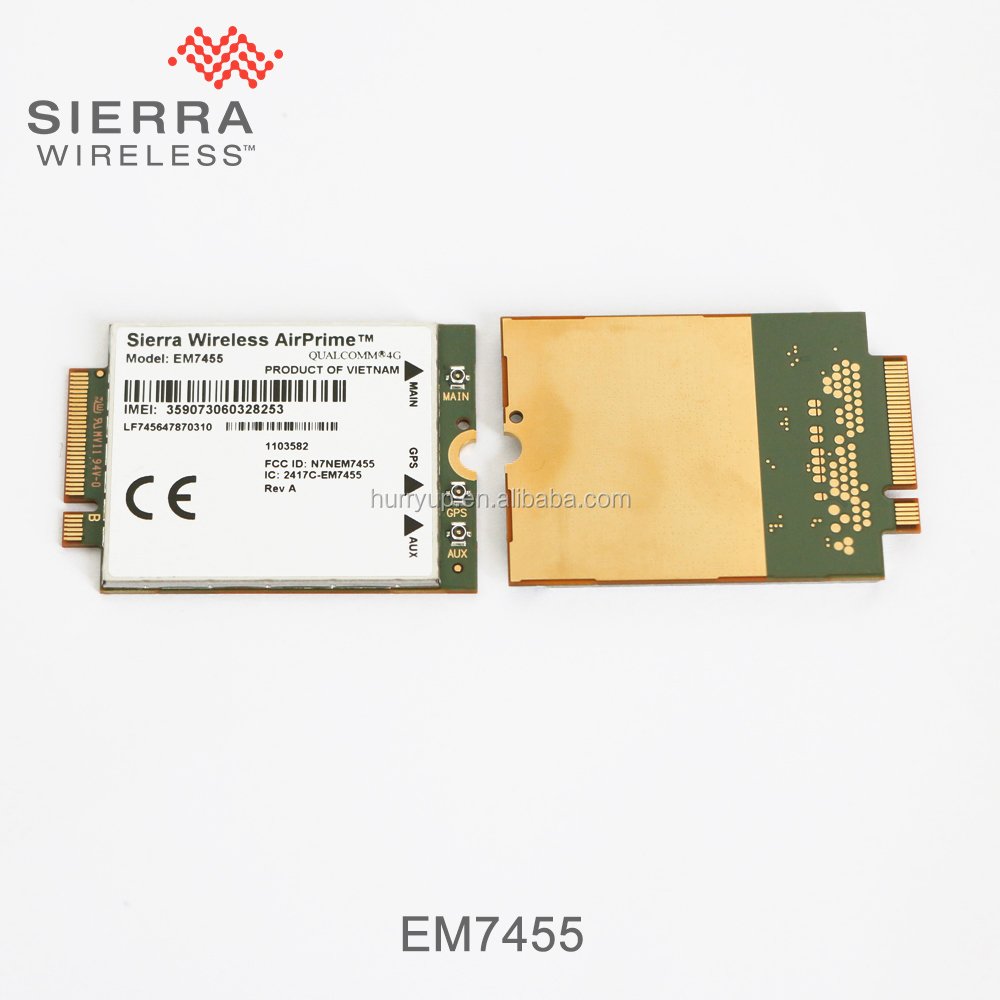 Sierra Wireless Lte 4g Modules Em7455 For Americas Emea Cat-6 - Buy Sierra  Em7455,Sierra 4g Module,Sierra Module Product on Alibaba com