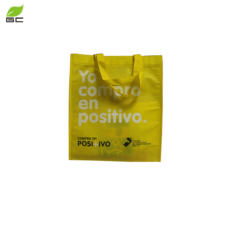 2018 Wholesale  custom  cheap  printed logo tote non woven shopping bag