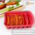 6 Cavity Arc Shape Silicone Baking Pan, Ice Cube Tray, Soap / Chocolate /Cake/Cookie /Pudding /jelly Mold