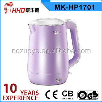 Pour over ceramic kettle with color changing