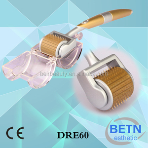 Derma rolling system 192 dermaroller hair grow therapy titanium microneedle skin