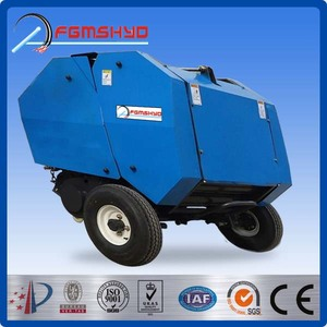 China Factory made high quality hay and straw baler machine