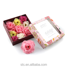 Thailand decorative rose flower carving soap