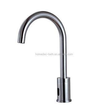 activated fr motion certified vessel fyeer cold lead tap tools faucet automatic touchless free sink bathroom chrome mixer hands hot sensor finish