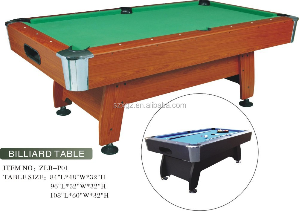 7ft/8ft/9ft Low Price Custom American Billiard Table/pool Table ...