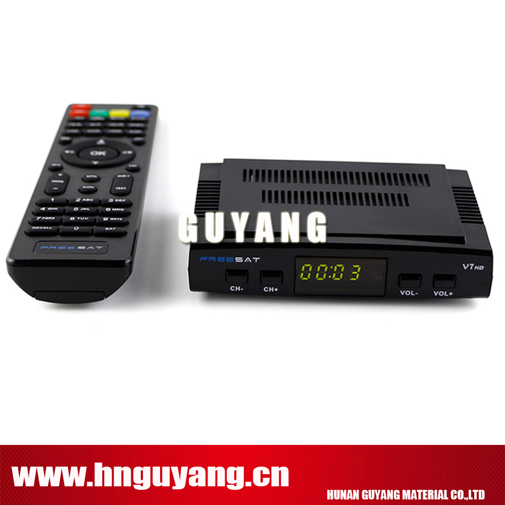 Satellite TV Receiver decoder Freesat V7 HD DVB-S2 + USB Wfi with 3 lines Europe CCCam account support full powervu cccam