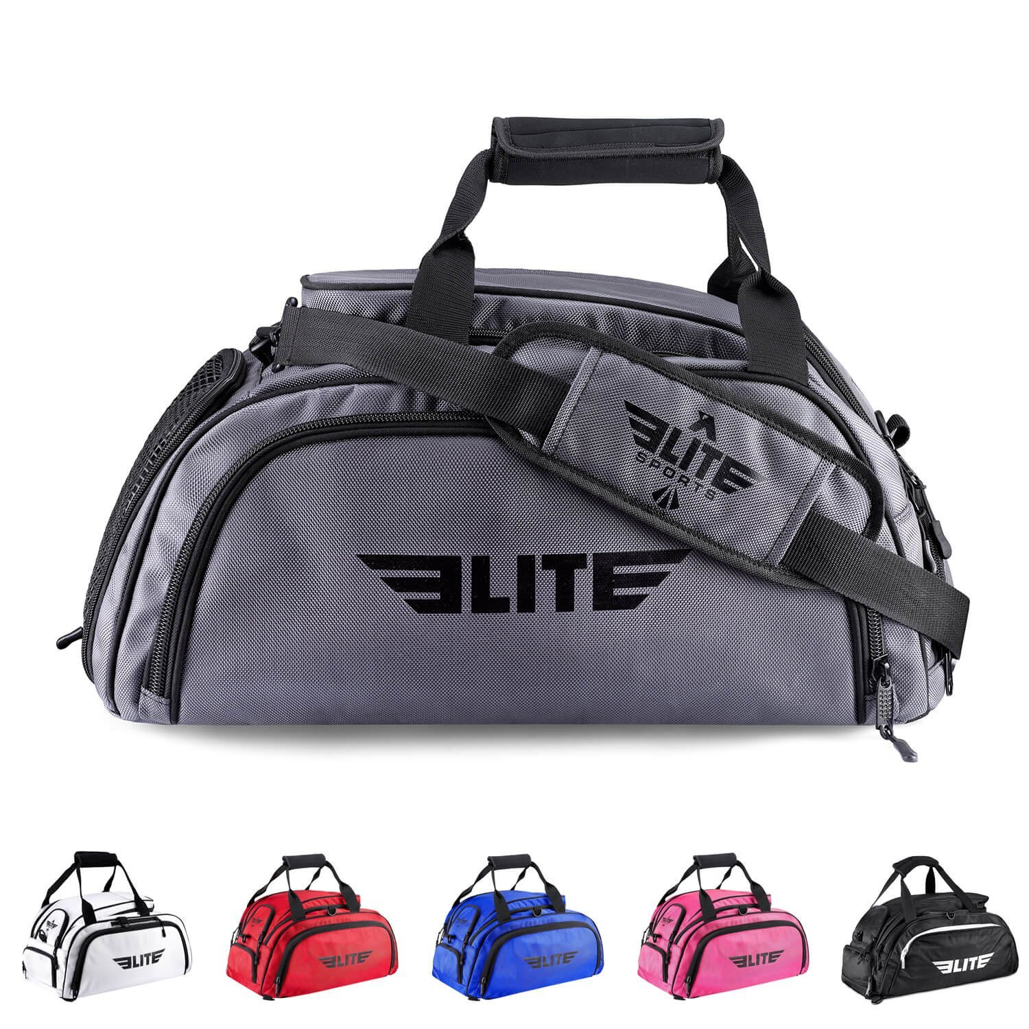 MEISTER MMA DRAWSTRING BACKPACK Cinch Sack Duffel Bag Gym Tote Sports Gear NEW