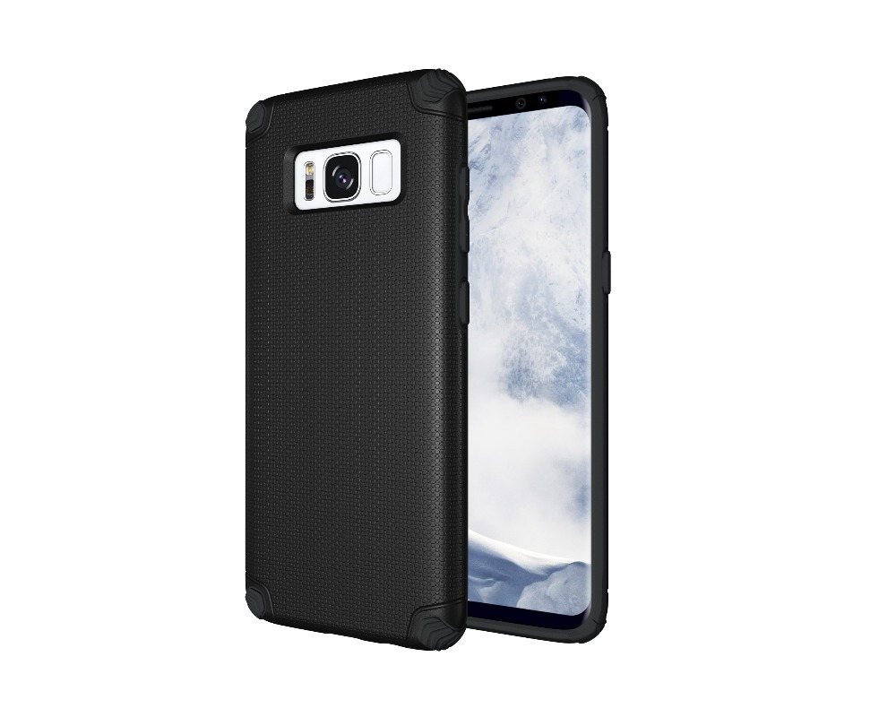 Heavy Duty Case For Samsung Galaxy S8 Non-slip Light Armor Hybrid Case New Products For Galaxy S8 Case