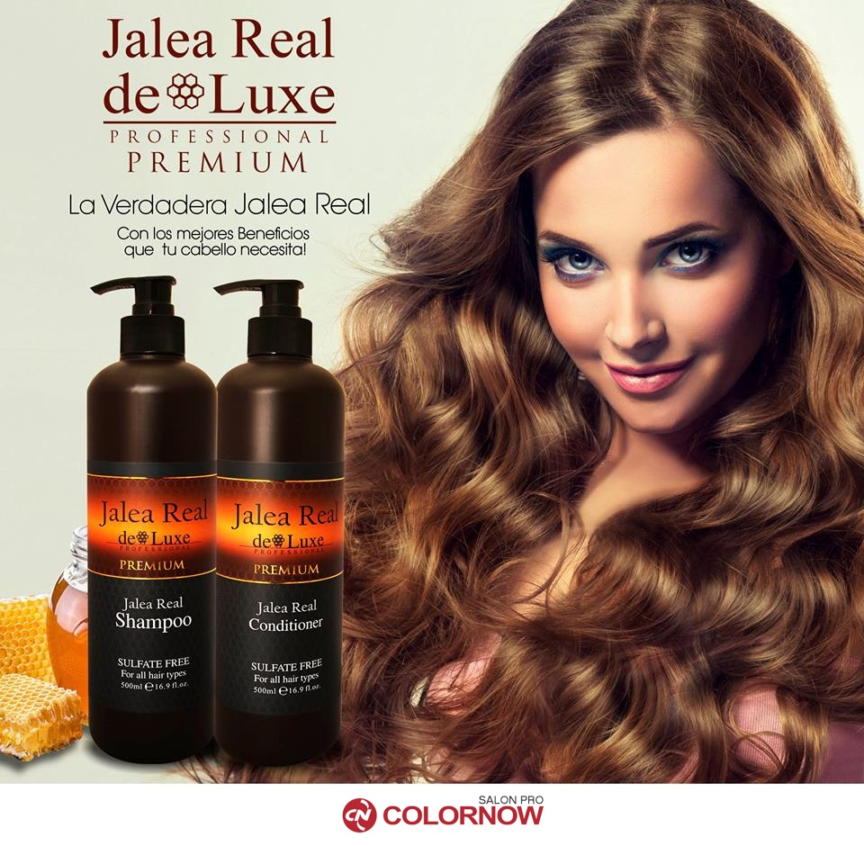 Top sell Original Jalea Real Deluxe shampoo champu royal honey jelly