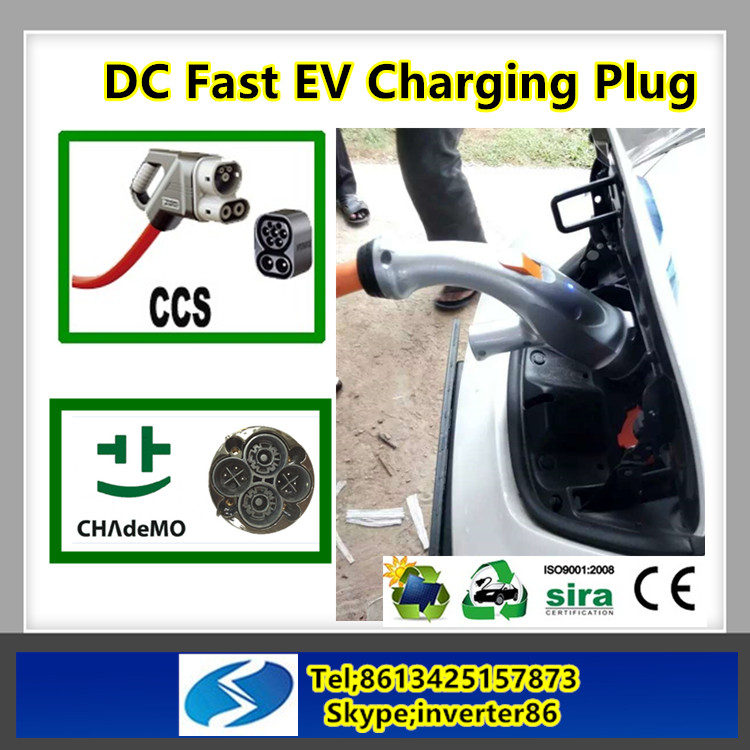 Combo 2 CCS plug for electric vehicle