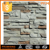 Big castle floor design quartzite classical machine cut pool tile