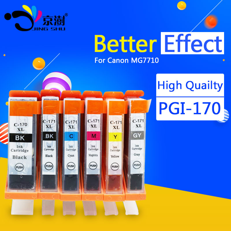 PGI 170 CLI 171 Compatible Ink Cartridge for Canon Use in PIXMA MG5710/MG6810/MG7710
