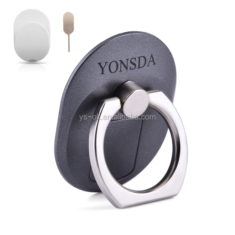 360 degree rotation cell phone finger ring holder phone stand holder