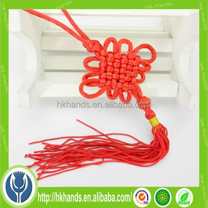 traditional handmade good luck Chinese knot