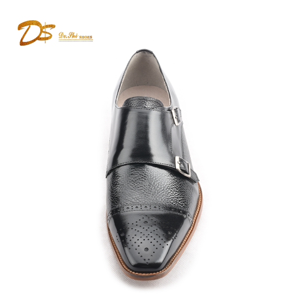 China dress men genuine with leather guangzhou shoes fashion buckle OX1qwOnr