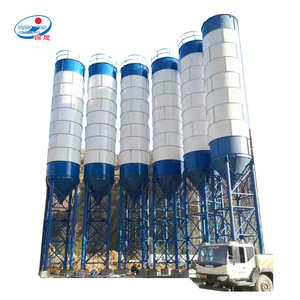 Small bulk cement tank 40 to 200 ton fly ash silo factory price