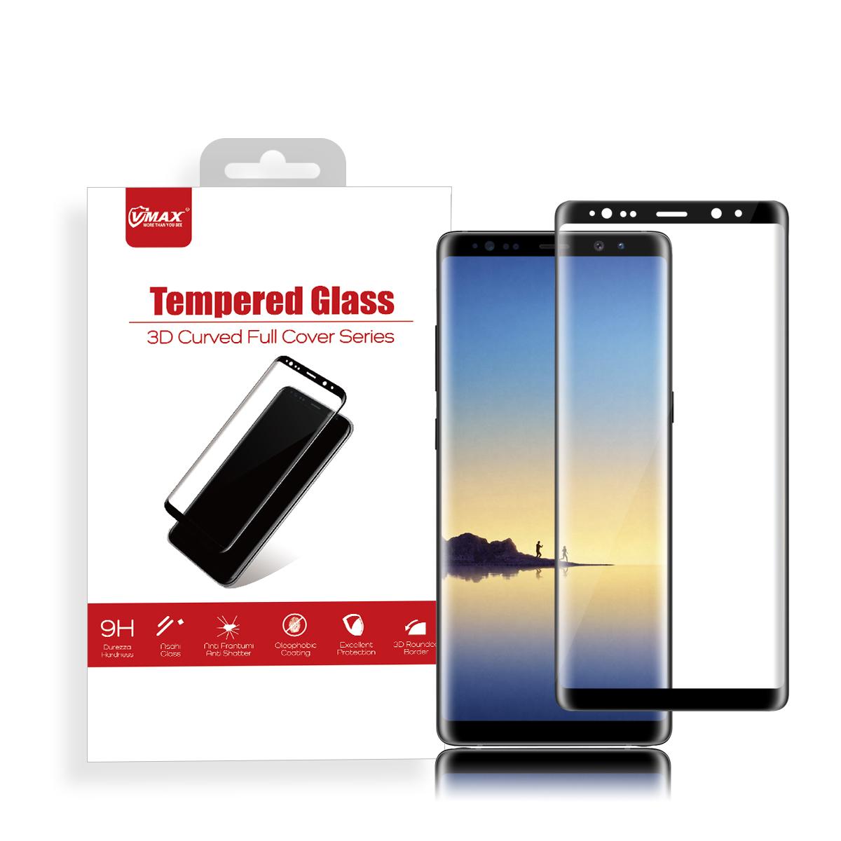 VMAX Full 0.2mm 9 H 3D โค้งกระจกนิรภัยกระจกหน้าจอสำหรับ Samsung galaxy หมายเหตุ 10/tempered แก้วผู้ผลิต
