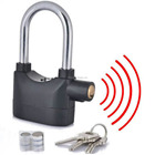 Security Kinbar Anti-Theft for Door Motor Bicycle Siren Padlock Alarm Lock