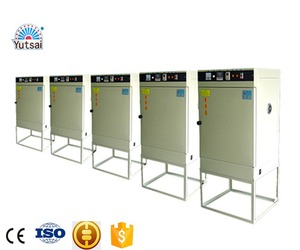 Hot air cocoa beans potato pottery circulation tables small drying chinese prices rotary rack oven