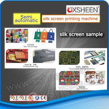 silk screen print machine