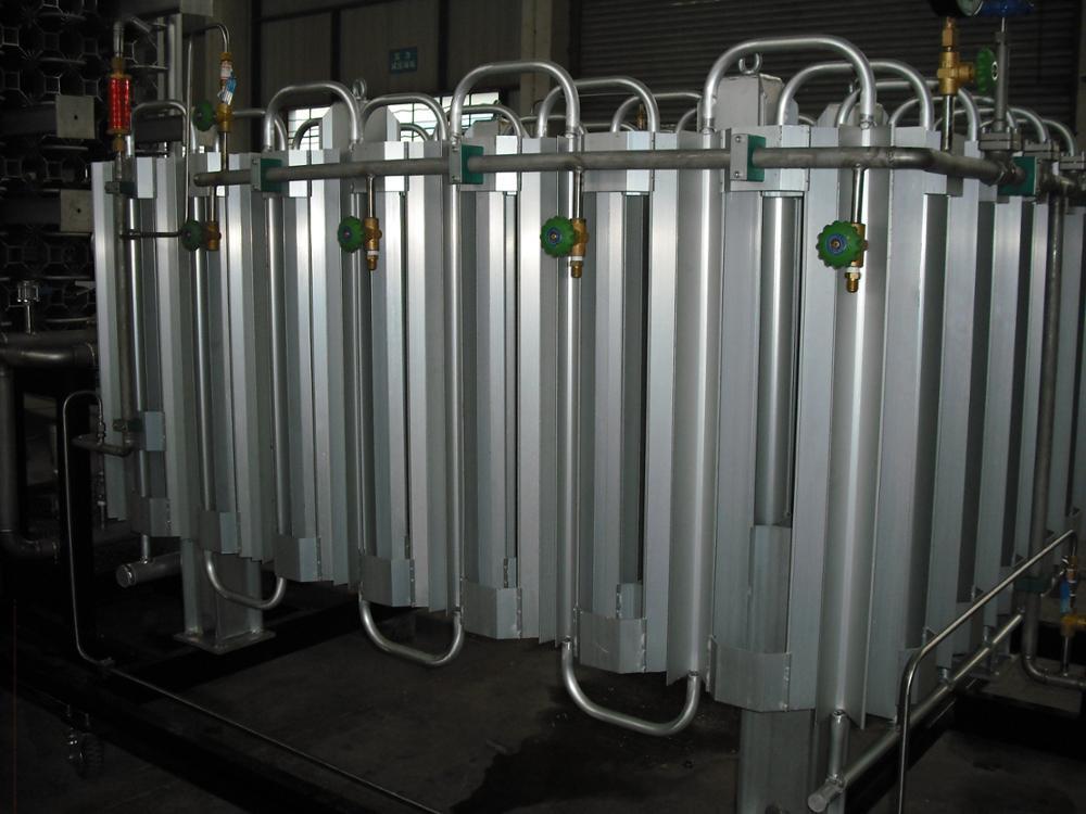Cryogenic Liquid Hydrogen Air Control Vaporizer View