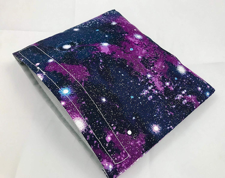 Reusable Snack Bag Eco-Friendly - Galaxy Space Purple