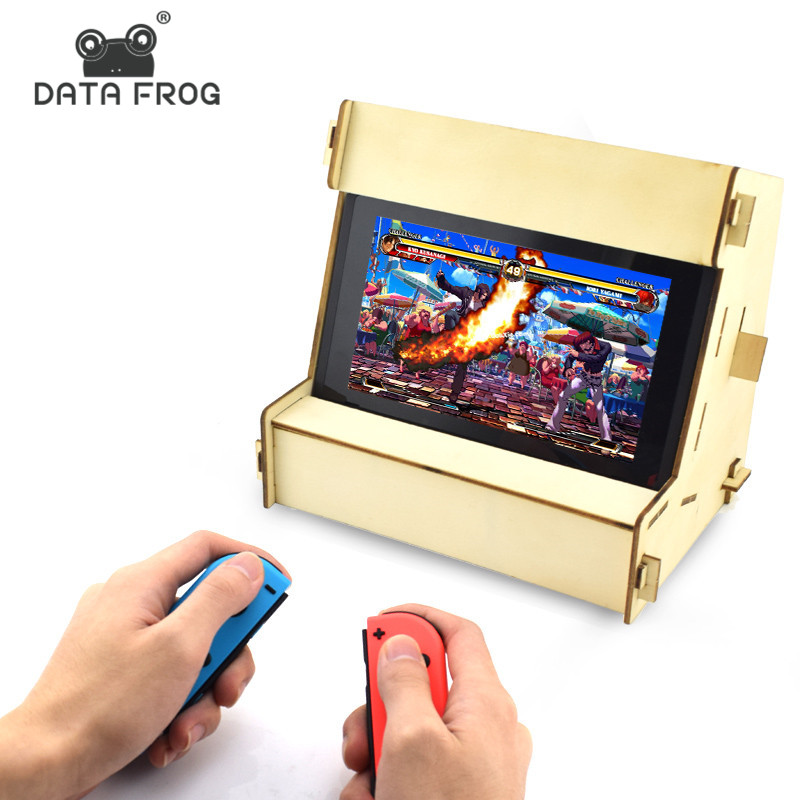 Data Frog DIY Foldable Bracket Stand For Nintendo Switch Holder For NS Console Controller