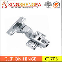 furniture hardware made in china 2 way clip on cabinet hinges half overlay