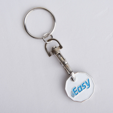 KY001 Factory Price Blank Lego Enamel Cheap Promotional Shopping Cart Custom Metal Keychain