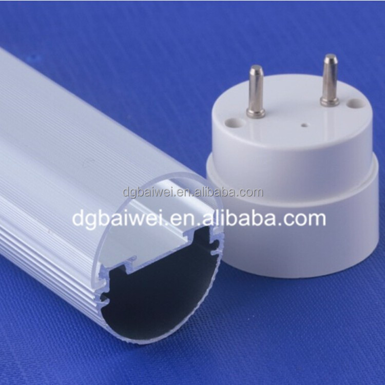 t5 t8 t10 round LED tube light accessories LED lamp shade