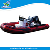 Catamaran speed hovercraft boat/thundercat inflatable boat for sale
