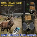 Digital Hunting Chasse Trail Camera 12MP HD1080P 2 0 LCD MMS GPRS Wild Trap Camcorder IR