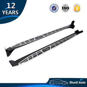 Aluminum Alloy OEM Style Side Step For Toyota Rav4 2014-2018 Running Board Black Auto accessories