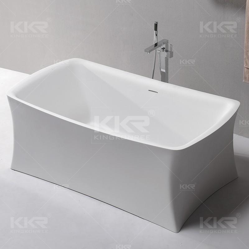 personalizzato moderno piccolo mini superficie solida vasca da bagno