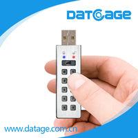 Datage stainless steel metal password USB storage Device