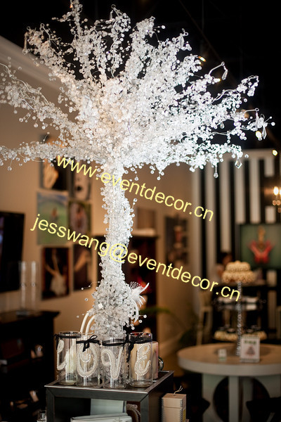 2016 Hotsale tall crystal tree for wedding centerpiece decoration