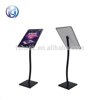 Hotel Lobby Advertising Board Metal Stand Up Sign