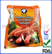 FDA certified vacuum packaging sausage bag